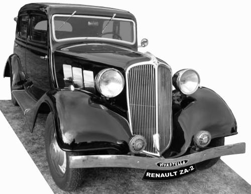 Renault ZA-2 Vivastella 1934
