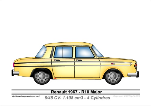 1967-Type R10 Major