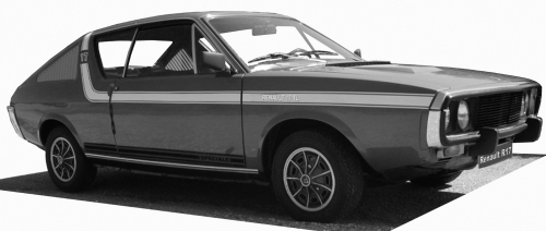 Renault R17 TL 1972